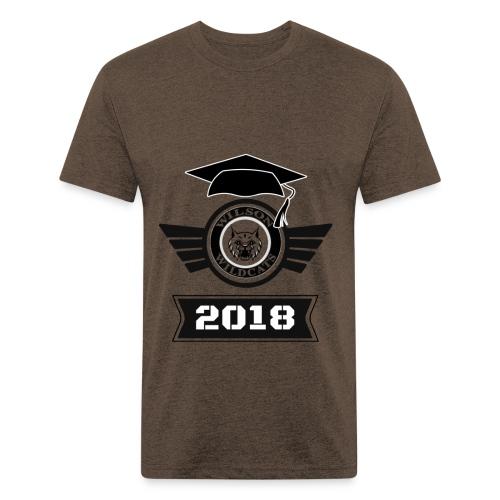 9E478854 EECB 482C 89BC 2E8D5D0264E7 - Fitted Cotton/Poly T-Shirt by Next Level