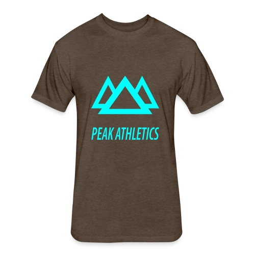 Peak Athletics - Fitted Cotton/Poly T-Shirt by Next Level