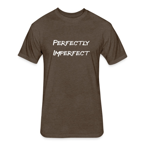 perfect - Fitted Cotton/Poly T-Shirt by Next Level