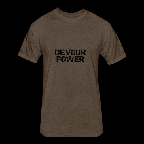 DevourLogo - Fitted Cotton/Poly T-Shirt by Next Level