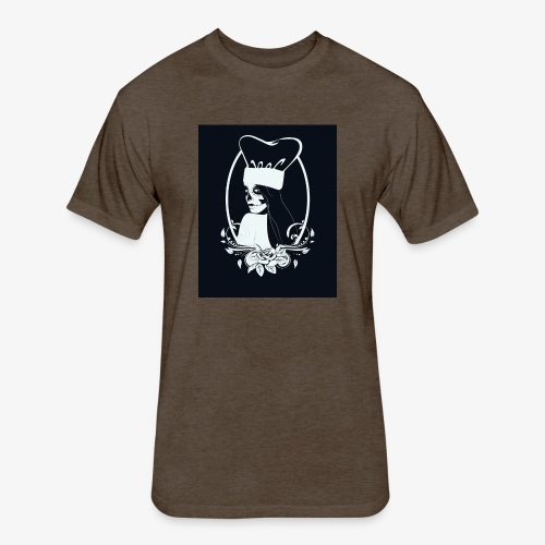 la catrina - Fitted Cotton/Poly T-Shirt by Next Level
