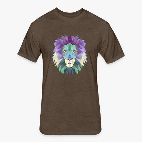 Healing Animal - Fitted Cotton/Poly T-Shirt by Next Level