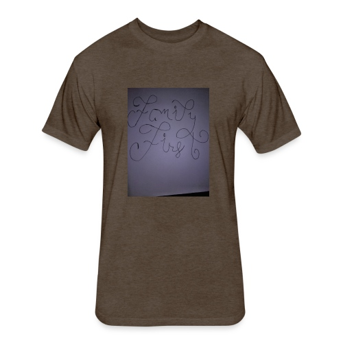 Jarvis Bester - Fitted Cotton/Poly T-Shirt by Next Level
