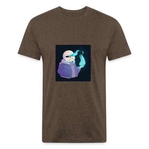 "JaydensgamesandblogsYT (Sans ""power ver."") - Fitted Cotton/Poly T-Shirt by Next Level"
