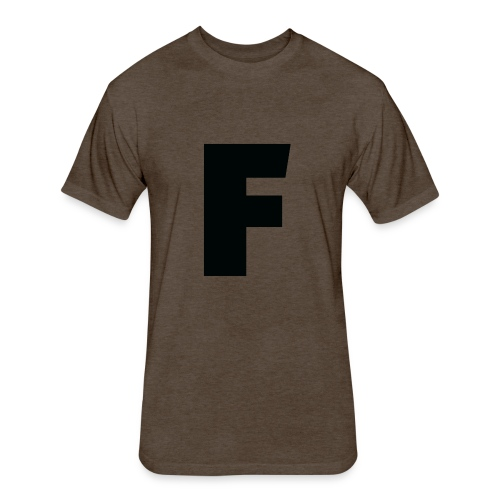 F - Fitted Cotton/Poly T-Shirt by Next Level