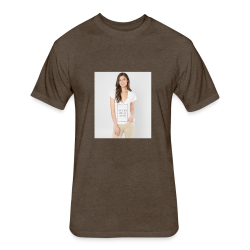 LADY'S SHIRTS - Fitted Cotton/Poly T-Shirt by Next Level