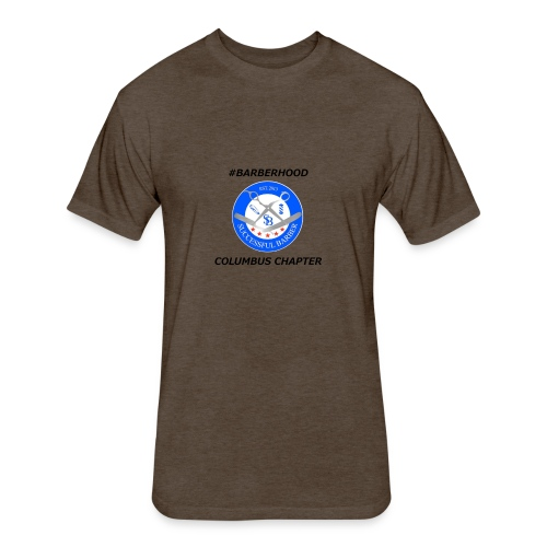 SB Columbus Chapter - Fitted Cotton/Poly T-Shirt by Next Level