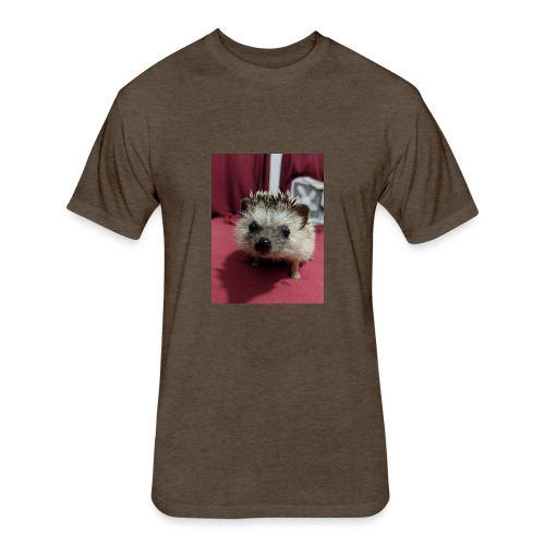 Love the animals - Fitted Cotton/Poly T-Shirt by Next Level