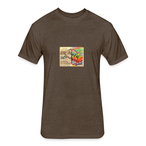 Band Name tee - Fitted Cotton/Poly T-Shirt by Next Level