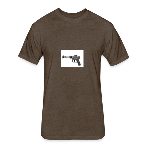 DPP Left Way Pistol - Fitted Cotton/Poly T-Shirt by Next Level