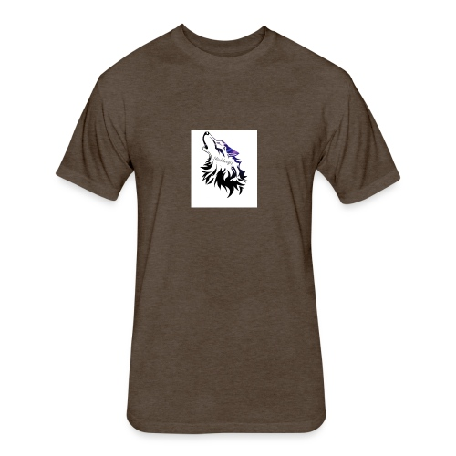 lthe dawg merch - Fitted Cotton/Poly T-Shirt by Next Level
