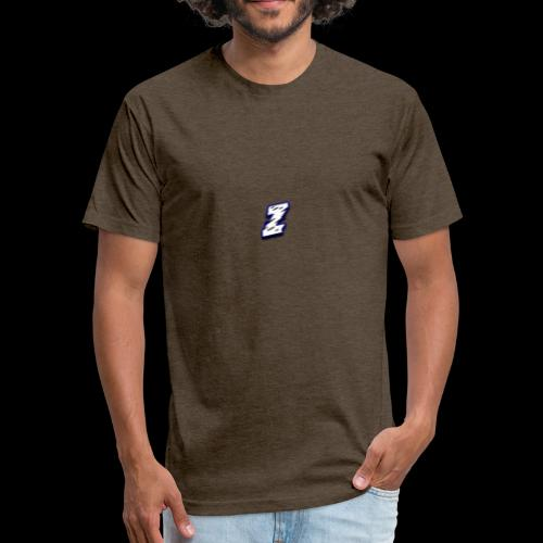 The ZenchuSquad Logo - Fitted Cotton/Poly T-Shirt by Next Level