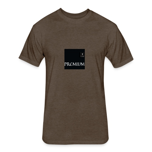 Premium apparel - Fitted Cotton/Poly T-Shirt by Next Level