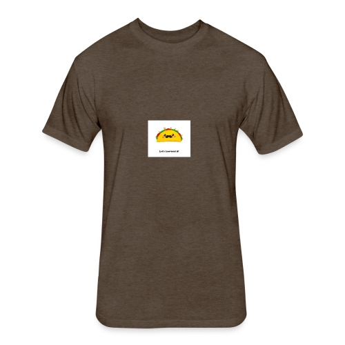 Taco Bout it - Fitted Cotton/Poly T-Shirt by Next Level