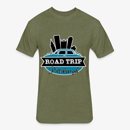 road trip - Fitted Cotton/Poly T-Shirt by Next Level