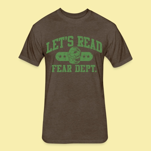 Athletic - Fear Dept. - Fitted Cotton/Poly T-Shirt by Next Level