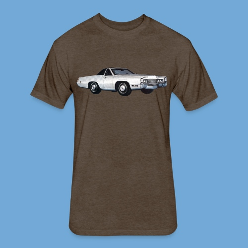1969 Cadillac Eldorado Supercoupe - Fitted Cotton/Poly T-Shirt by Next Level