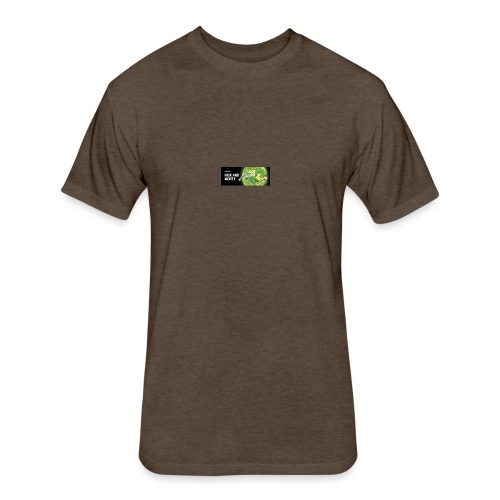 flippy - Fitted Cotton/Poly T-Shirt by Next Level
