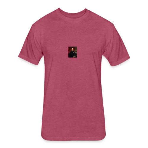 WIlliam Rufus King - Fitted Cotton/Poly T-Shirt by Next Level
