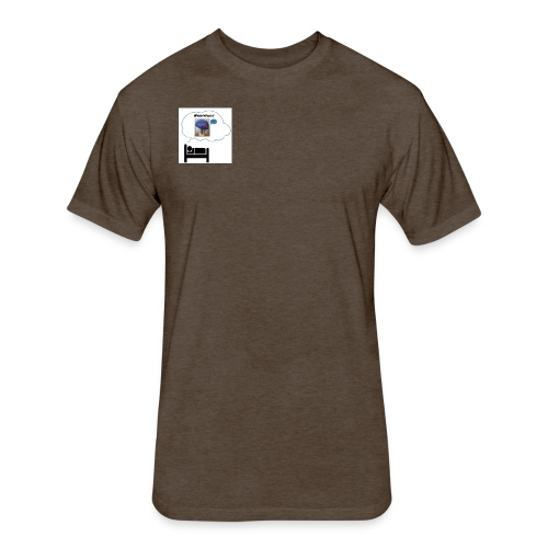 Sleep Harmonizer Bubble - Fitted Cotton/Poly T-Shirt by Next Level