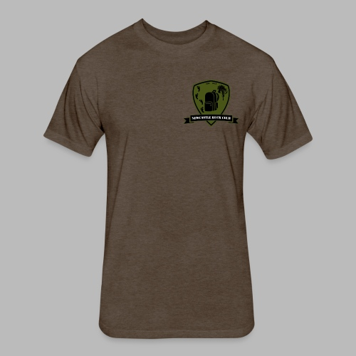 Newy Ruck - Fitted Cotton/Poly T-Shirt by Next Level