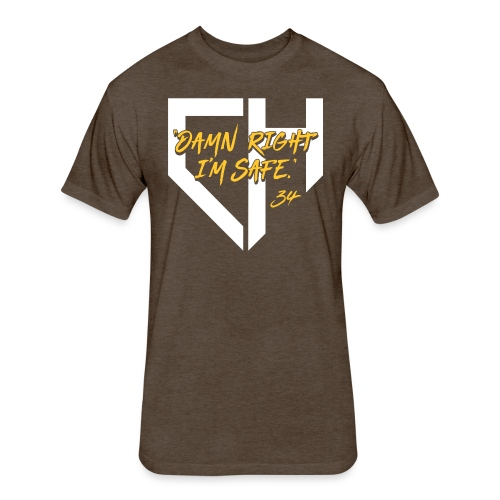 Padres_DRIS - Fitted Cotton/Poly T-Shirt by Next Level