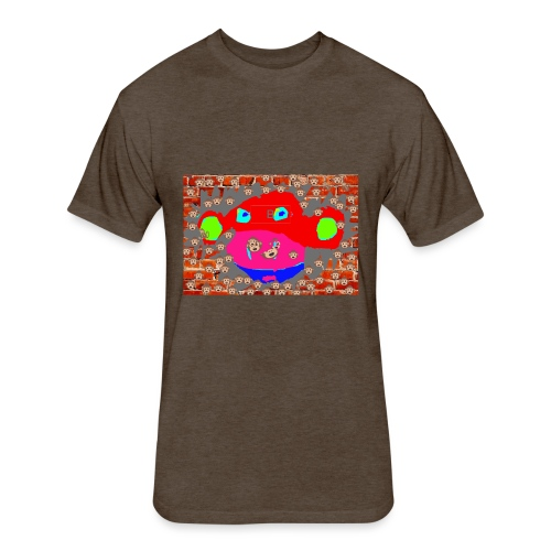 monkey by brax - Fitted Cotton/Poly T-Shirt by Next Level