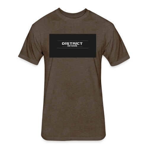 District apparel - Fitted Cotton/Poly T-Shirt by Next Level