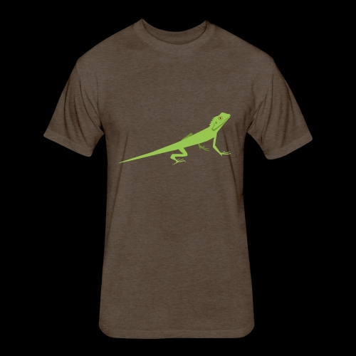 teen lizard - Fitted Cotton/Poly T-Shirt by Next Level
