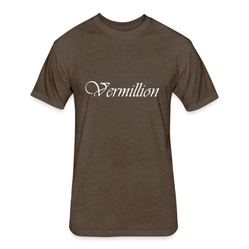 Vermillion T - Fitted Cotton/Poly T-Shirt by Next Level