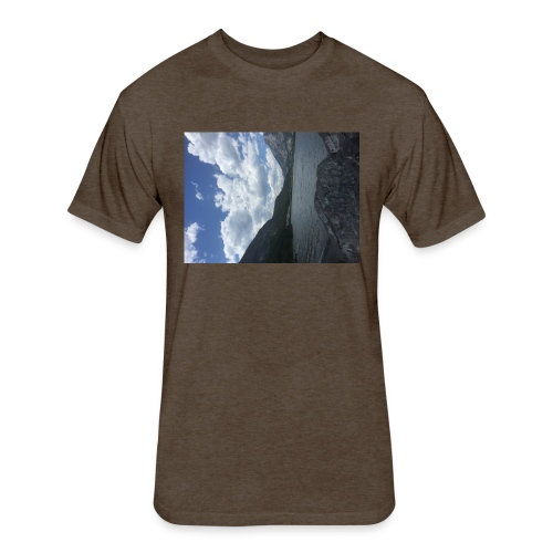 road to one thousand - Fitted Cotton/Poly T-Shirt by Next Level
