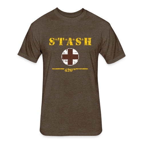 STASH-Final - Fitted Cotton/Poly T-Shirt by Next Level
