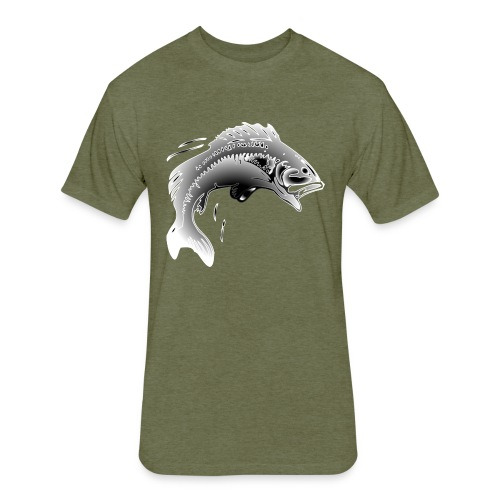 fishermen T-shirt - Fitted Cotton/Poly T-Shirt by Next Level
