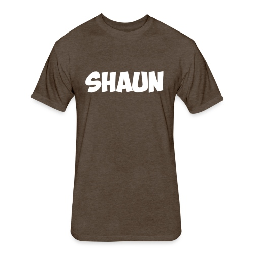 Shaun Logo Shirt - Fitted Cotton/Poly T-Shirt by Next Level