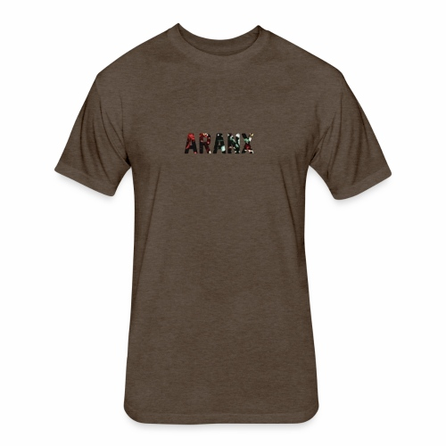Aranx Logo - Fitted Cotton/Poly T-Shirt by Next Level