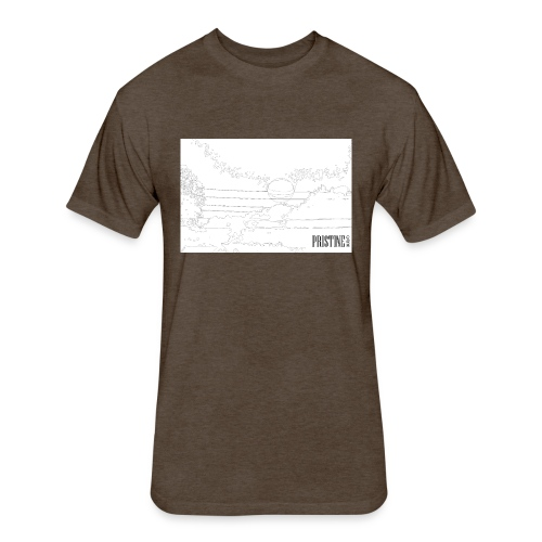 SunLines - Fitted Cotton/Poly T-Shirt by Next Level