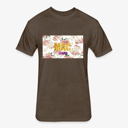 drama - Fitted Cotton/Poly T-Shirt by Next Level