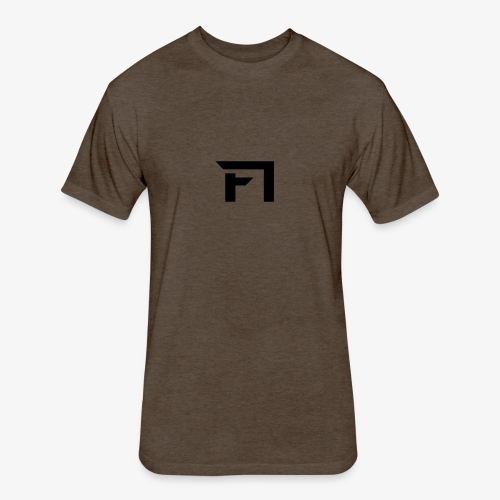 f1 black - Fitted Cotton/Poly T-Shirt by Next Level