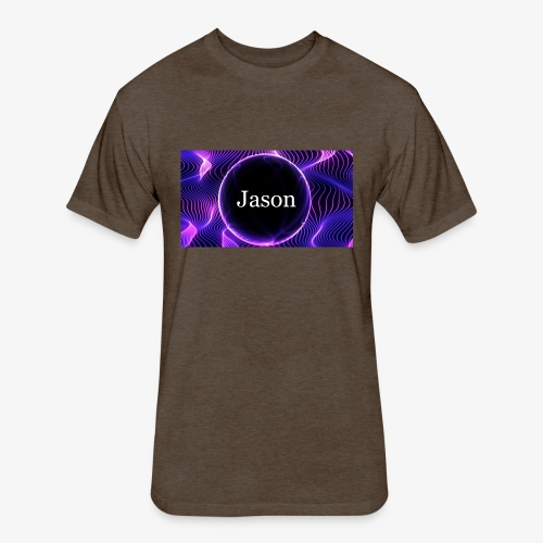 Jason of Darkness - Fitted Cotton/Poly T-Shirt by Next Level