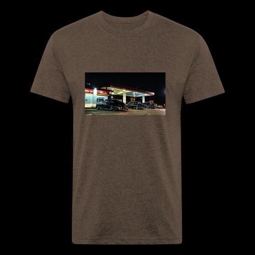 F2113954 469B 407D B721 BB0A78AA75C8 - Fitted Cotton/Poly T-Shirt by Next Level