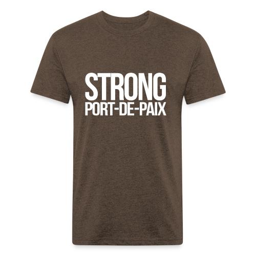 Port-de-paix - Fitted Cotton/Poly T-Shirt by Next Level