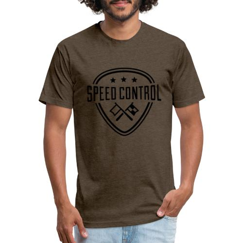 Speed Control Men's T-Shirt - Fitted Cotton/Poly T-Shirt by Next Level