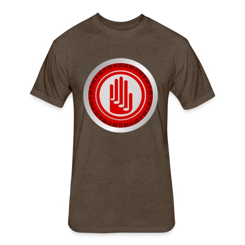 Costas Kletsidis YouTube Channel Logo - Fitted Cotton/Poly T-Shirt by Next Level