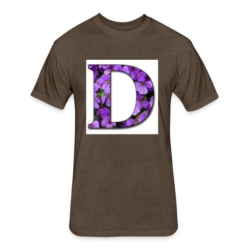 D Nation Sweater - Fitted Cotton/Poly T-Shirt by Next Level