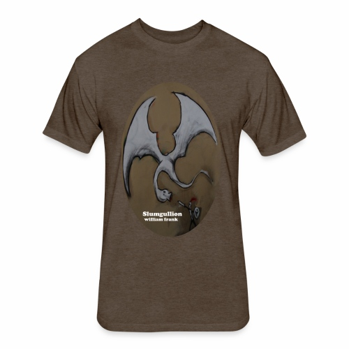 Slumgullion Ovals from Tuckford Bunny Press - Fitted Cotton/Poly T-Shirt by Next Level