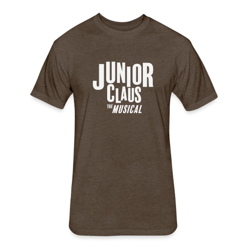 Junior Claus - Fitted Cotton/Poly T-Shirt by Next Level