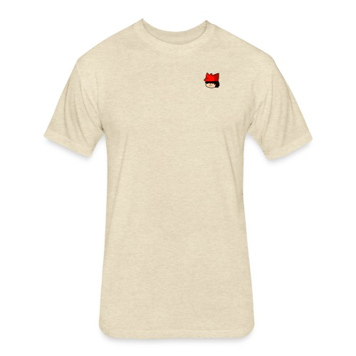 Small Boi Design - Fitted Cotton/Poly T-Shirt by Next Level