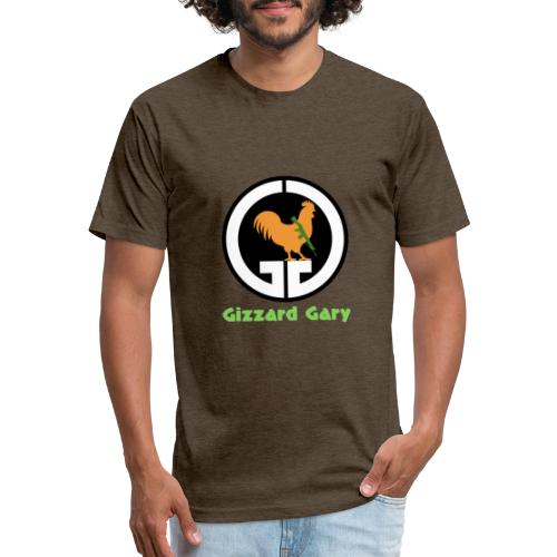 Logo with Channel Name - Fitted Cotton/Poly T-Shirt by Next Level