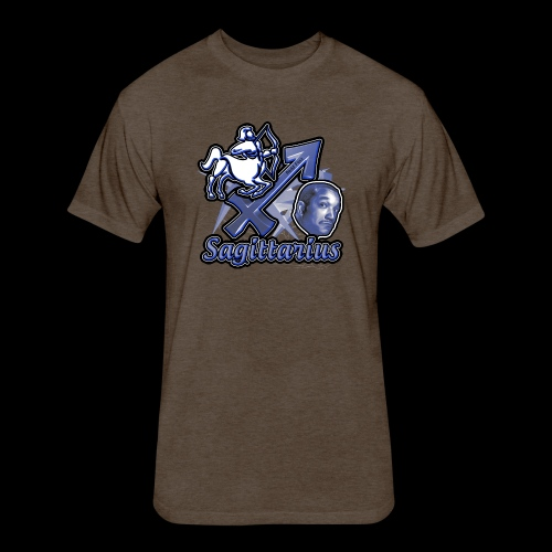 Sagittarius Redd Foxx - Fitted Cotton/Poly T-Shirt by Next Level