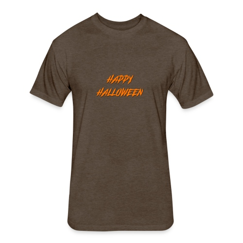 HAPPY HALLOWEEN - Fitted Cotton/Poly T-Shirt by Next Level